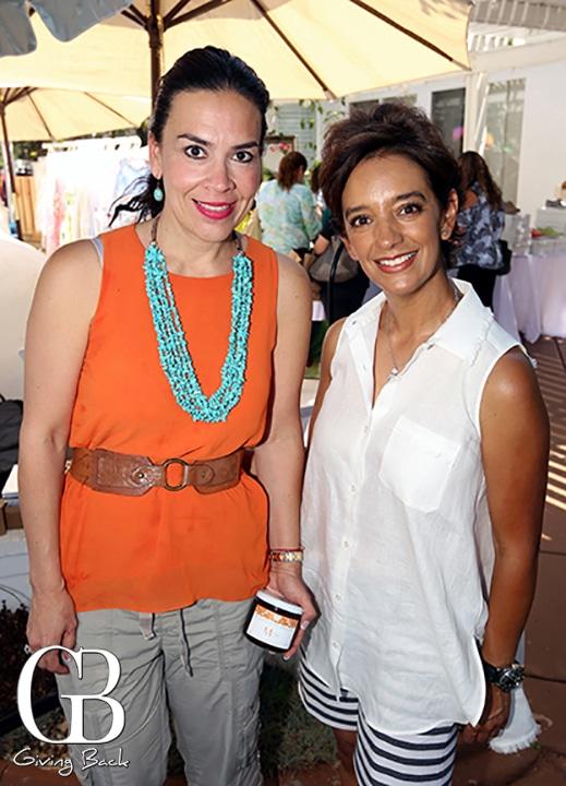Roberta Ocampo y Liz Diaz