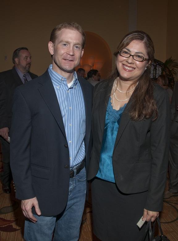 Roberto Knaier and Carmen Chavez