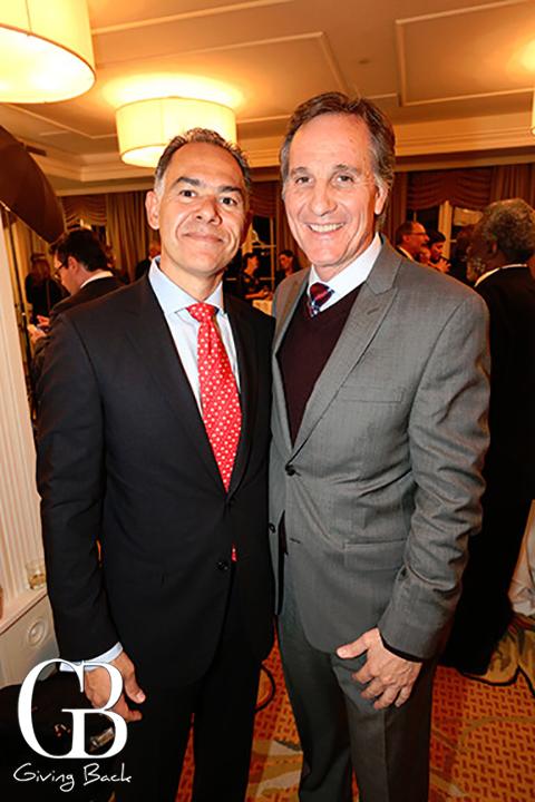 Roberto Arjona y Alcalde Cesar Moreno