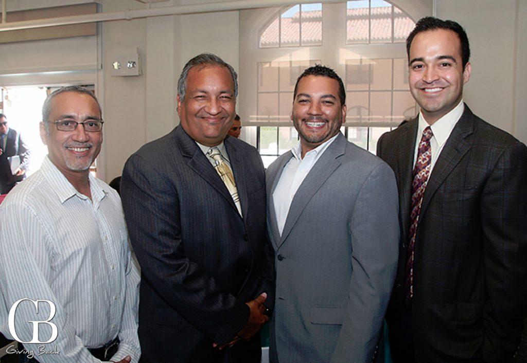Roberto Pozos  Luis Monteagudo Jr.  Jason Wells and Gabe Gutierrez