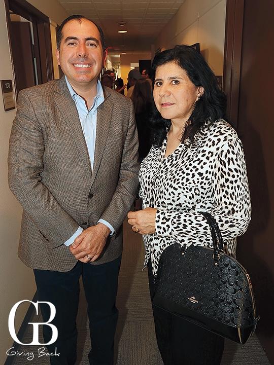 Roberto Vega and Sandra Pacheco