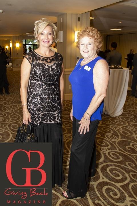 Robin Mingo and Deborah Roberts