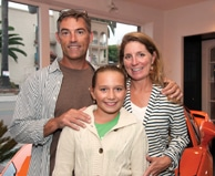 Rodney Meilson with Sara and Morgan Farnsworth