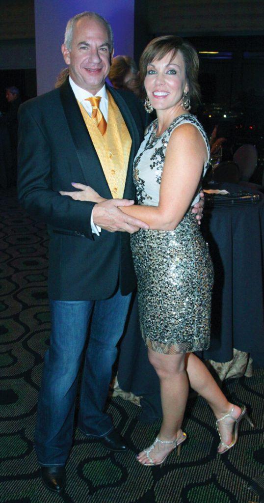 Roger Levine and Tamara Romeo.JPG