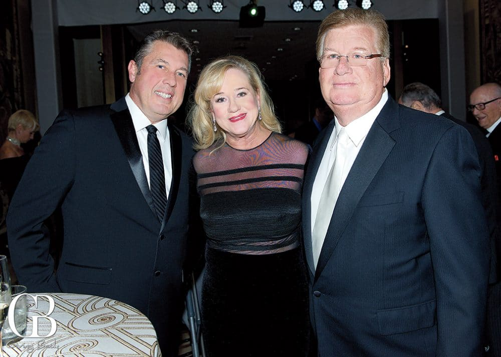 Roger and Gail King with Ron Zagami