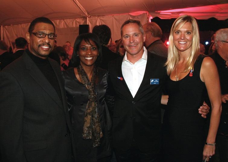 Roi and Chandra Ewell with Clint McClellan and Jennifer Morrison.JPG