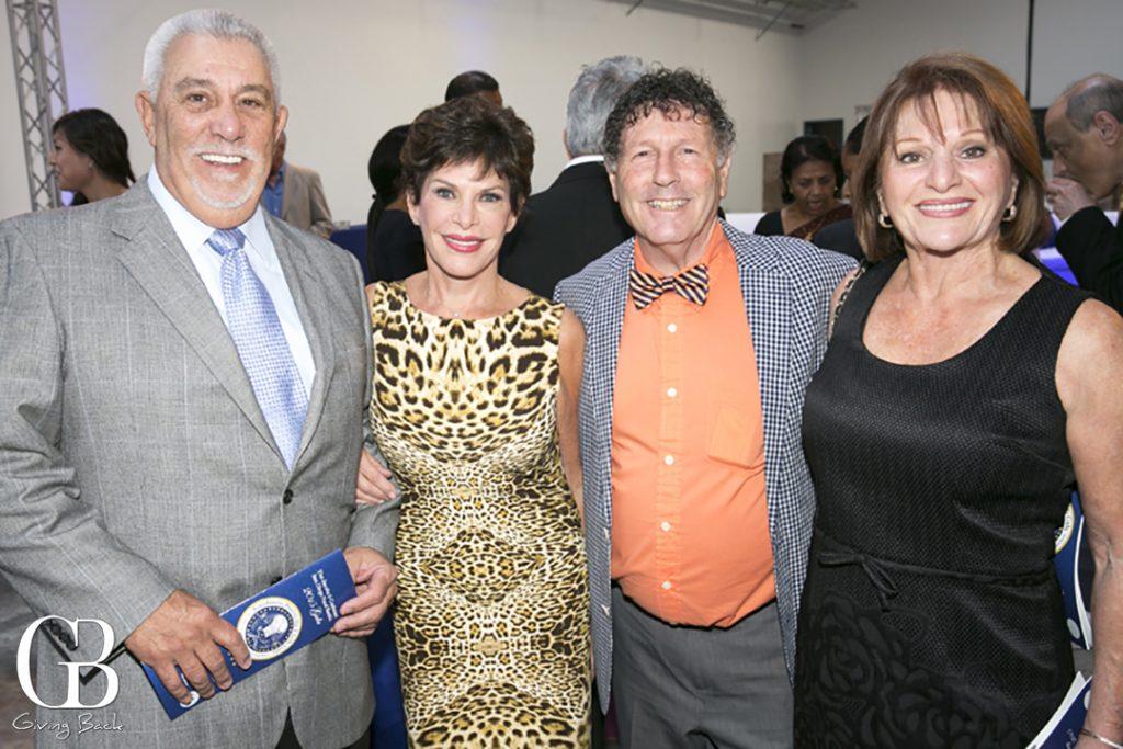 Ron Houston  Micki Schneider  Rich Wise and Adeline Navarra