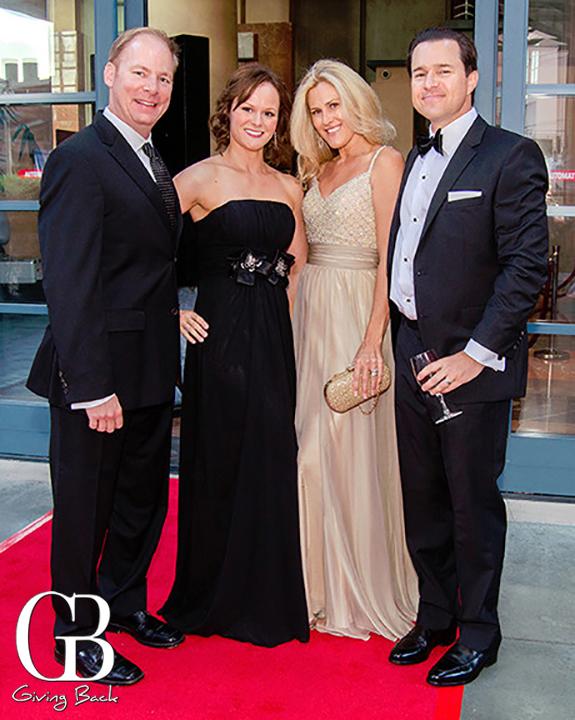Ron and Katja Mathiasen with Reid and Tonya Middleton