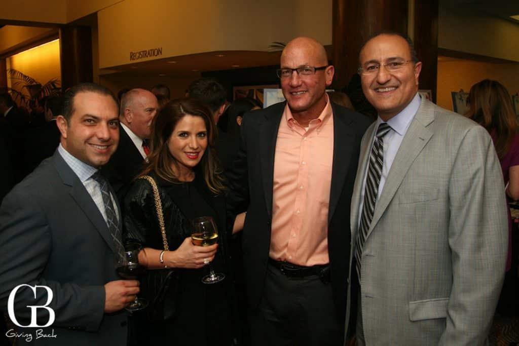 Ronson and Melanie Shamoun  Dan Stoneman  Sam Mattisha