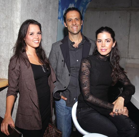Rosa Elena Moreno, Manuel Martinez y Adria Montano