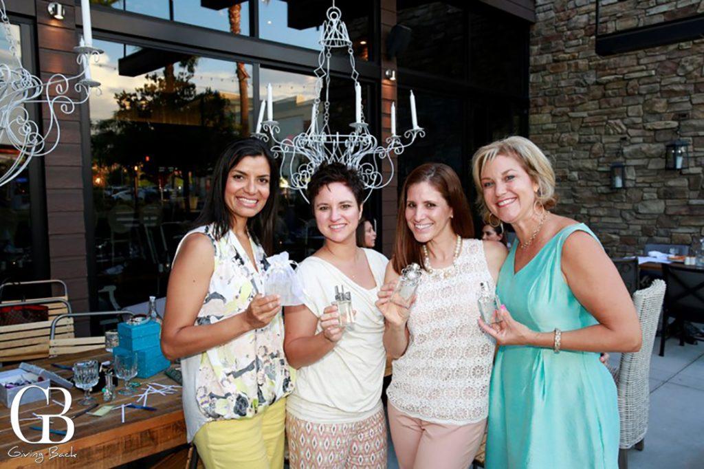 Rosa Gonzalez  Denise Torre  Celeste Lopez y Dana Knees