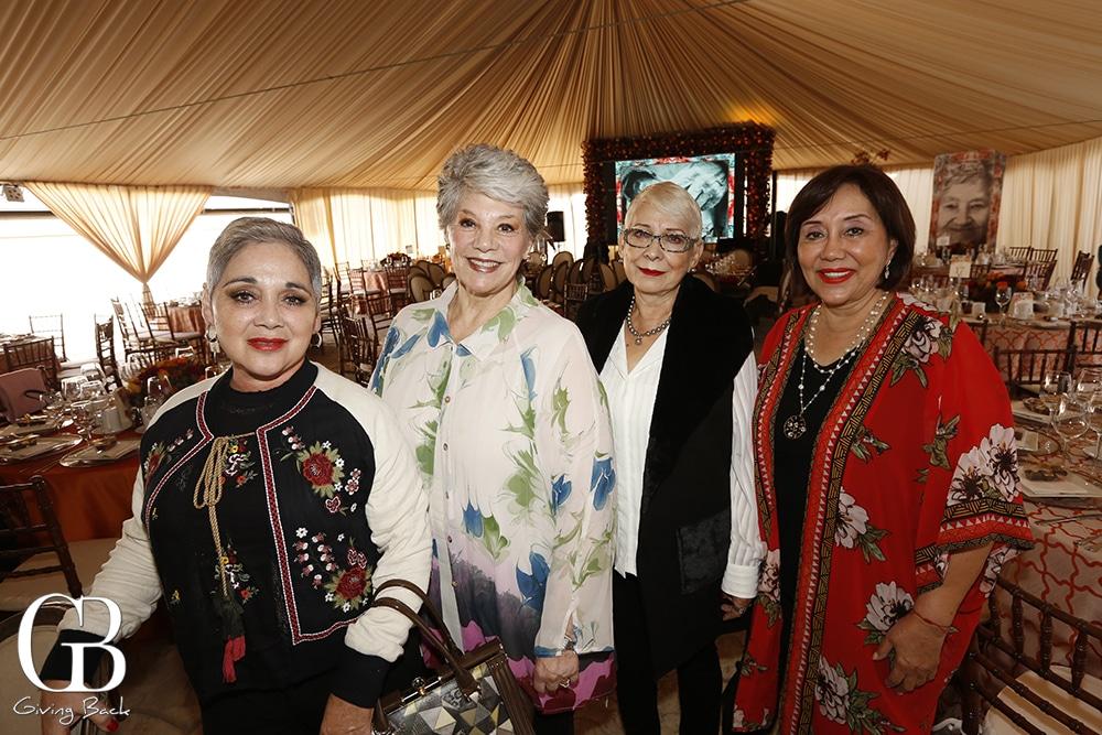 Rosa Hayde Niebla  Marta Fimbres  Carmen Hernandez and Elsa Ramos