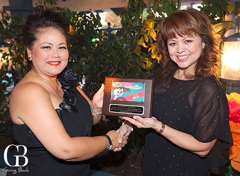 Rosa Robles and Lidia S. Maritnez