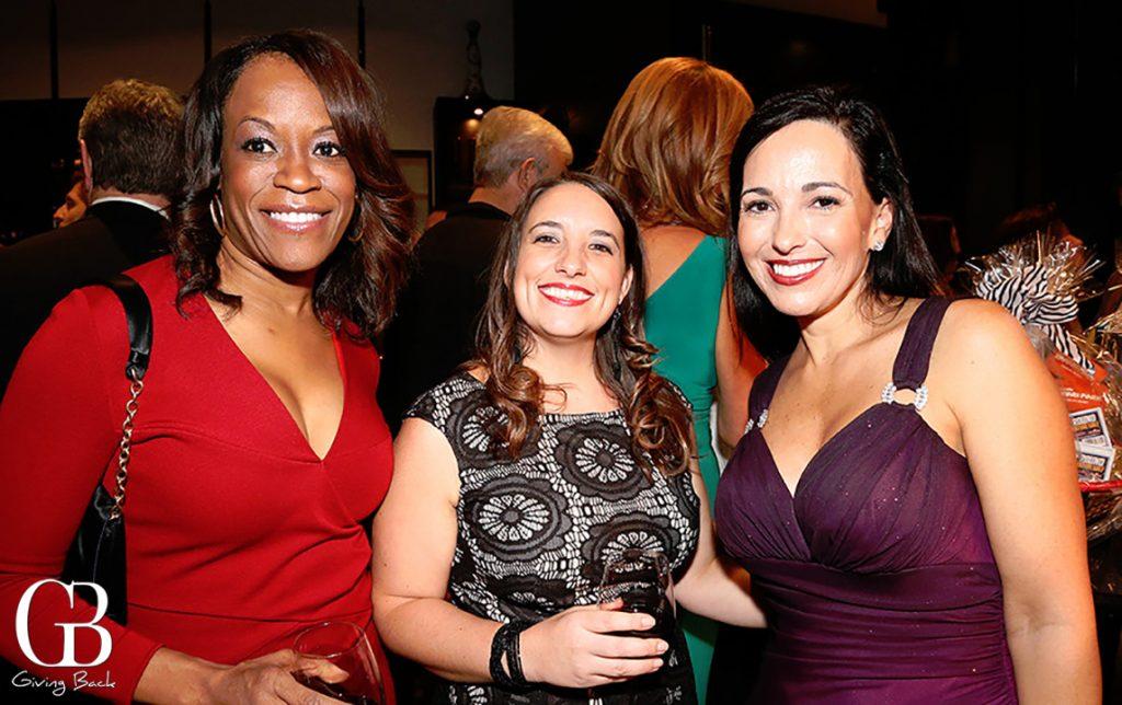 Rosalyn Jackson  Tessa Davis and Karen Bates