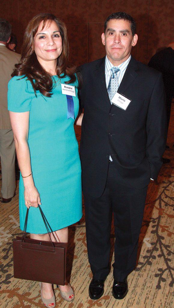 Rosana and Mario Ortega