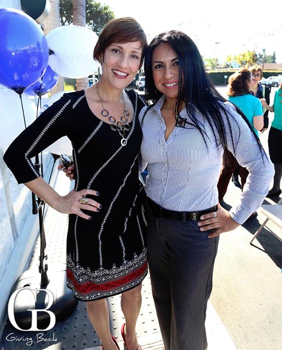 Rosana Scolari and Candy Cuevas