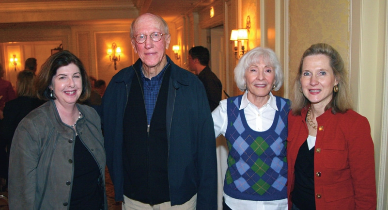 Rose Turner with Bud and Donna Seaberg and Mary Pat Downey.JPG