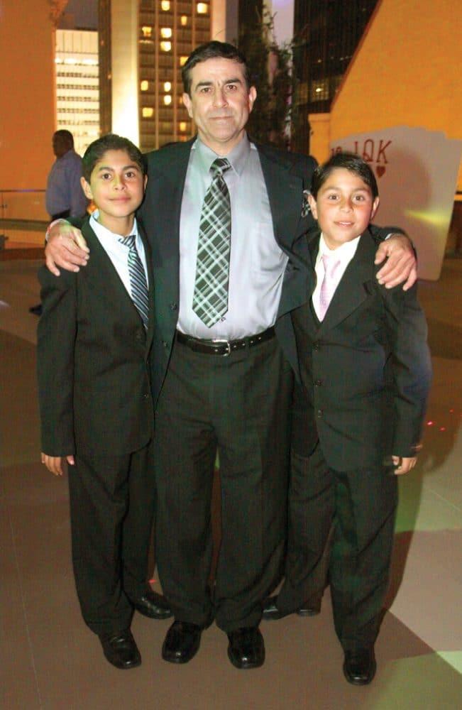 Rosendo, Rosendo and Cesar Fernandez Chavez.JPG