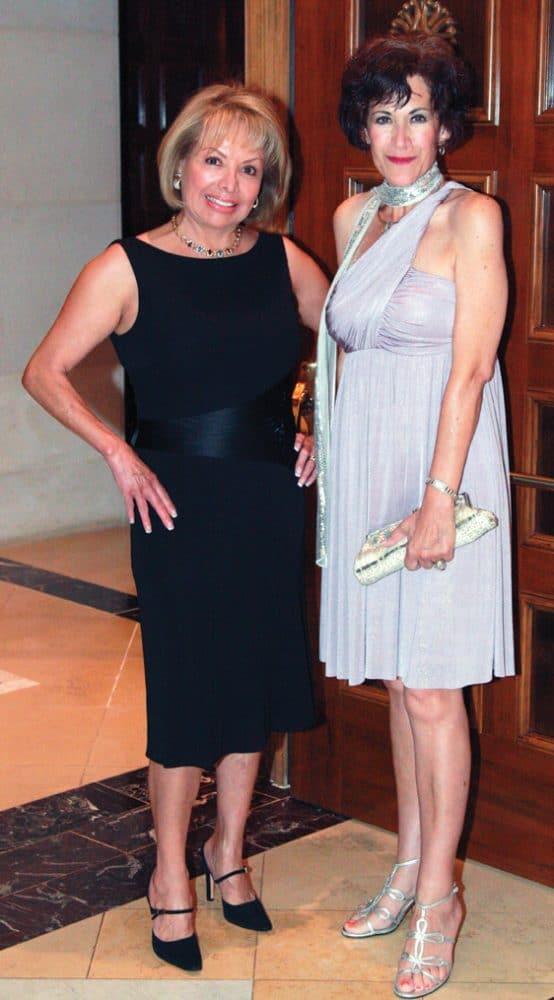 Rosie Bonn and Claudia Montano
