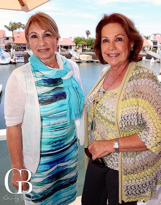 Rosie Serrano y Elisa Sroka