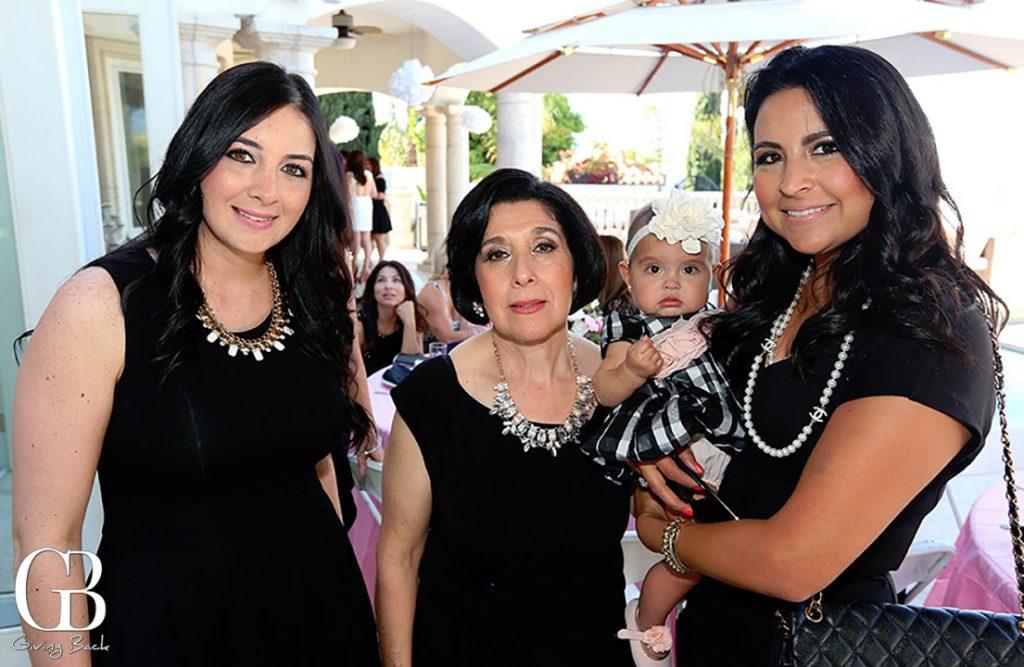 Roxana Balboa  Maria Garcia and Yvonne Bejerano with Alesandra