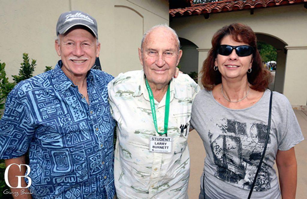 Roy Reaser  Larry Burnett and Nancy Reaser