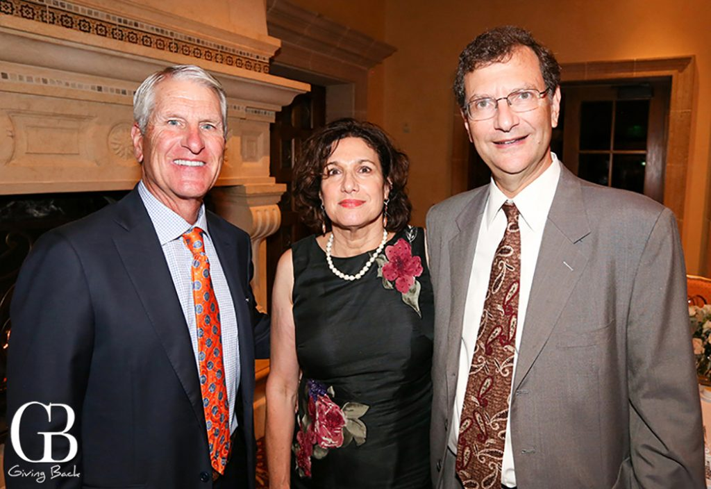 Roy Taylor with Rachel and Bob Perlmutter