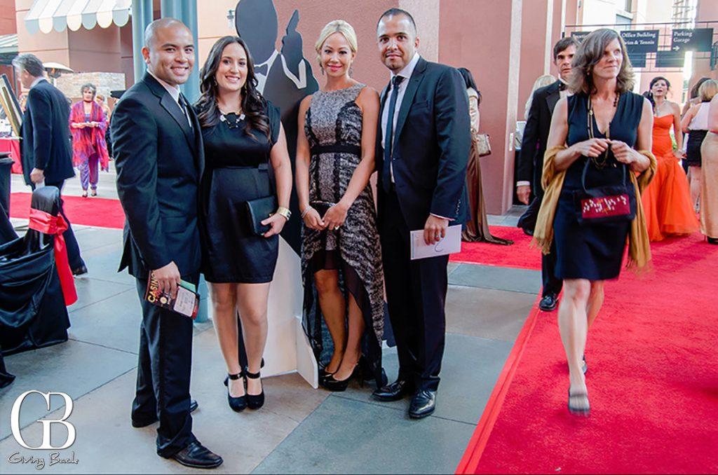 Roy and Jessica Dumaran with Andrea and Ray Kamali