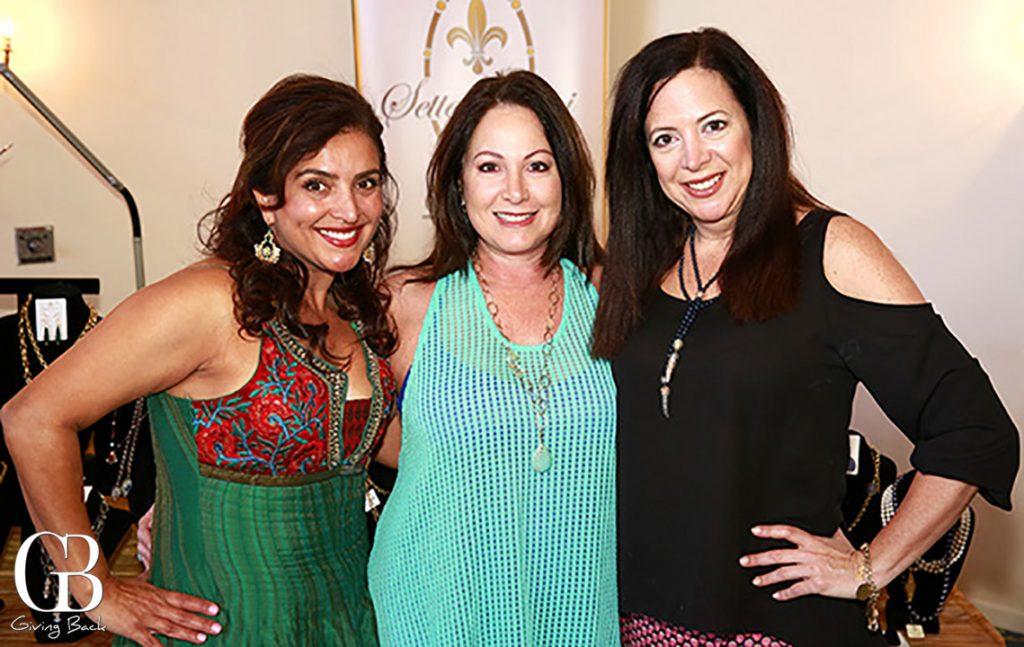 Roya Parviz  Maria Parnell and Christina Capozzi