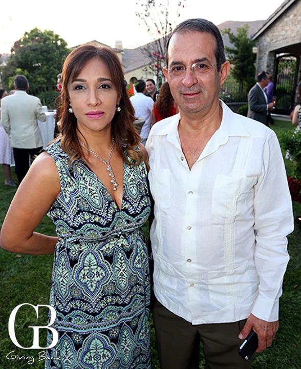 Ruby Carrillo y Cesar Amescua