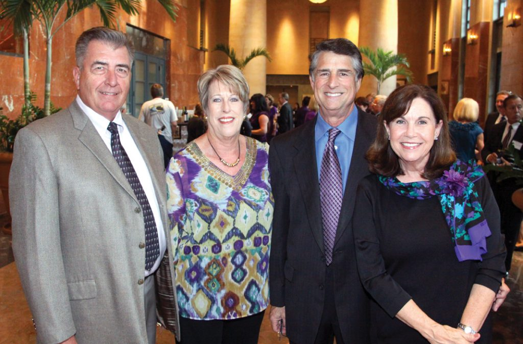 Russ and Lynne Pierce with Marti and Gail Levine.JPG