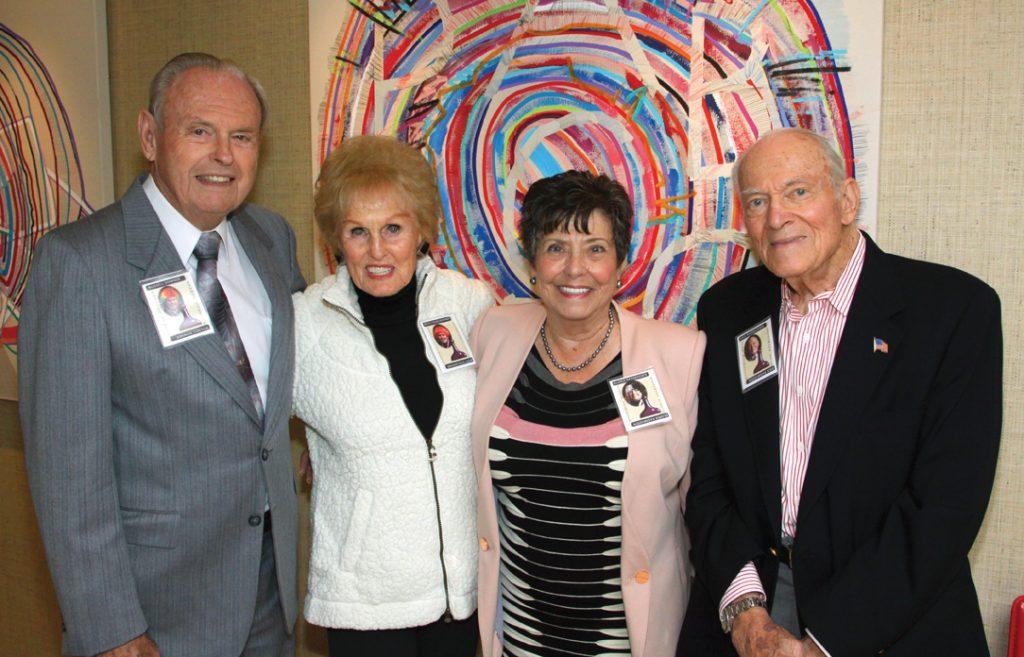 Russell Downer, Becky Ivans Downer, Gloria and Dick Rasmussen.JPG
