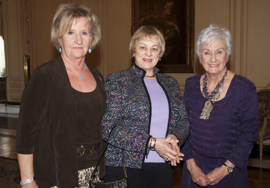 Ruth Leonardia, Bebe Zigman and Sylvia Smith