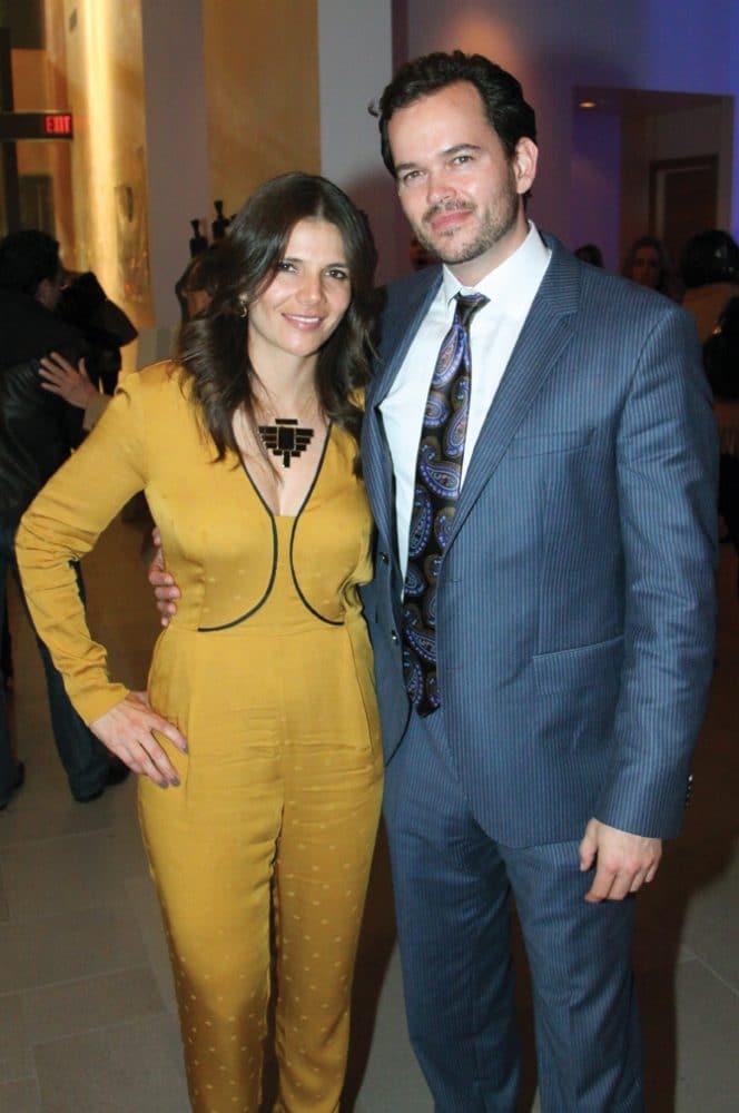 Ruth Melero with Michael Roberts.JPG