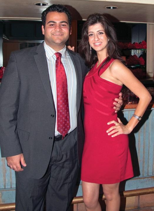 Ryan Mirkarimi and Soudeh Salarian