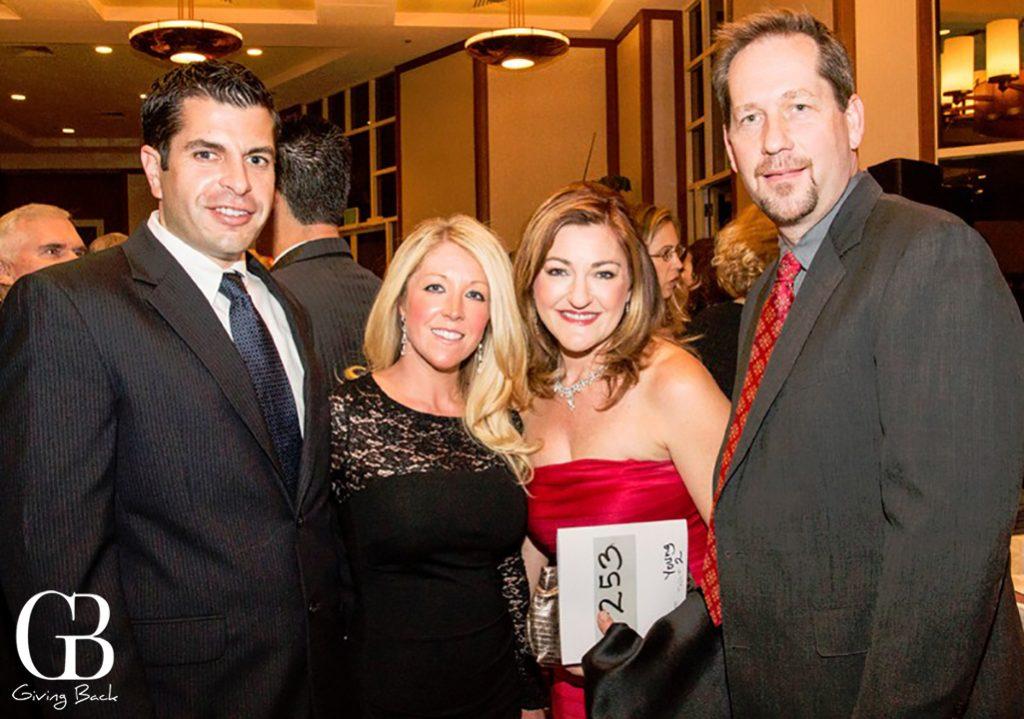 Ryan and Kisha Bell with Kimberly and Joe Young