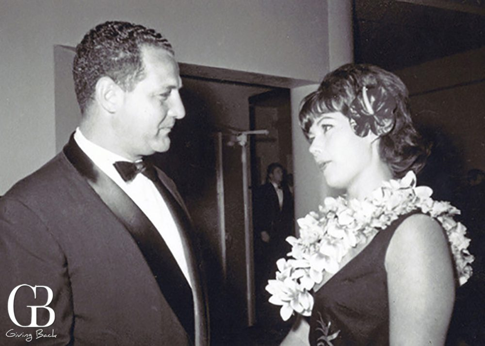 Salah Hassanein  with Shirley Maclaine