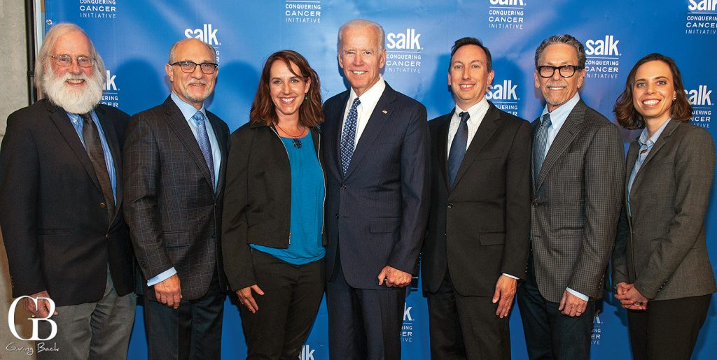 Salk Insitute with Vice President Joe Biden