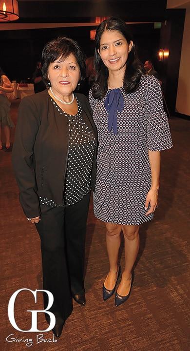 Sally Carrillo and Catalina Duarte