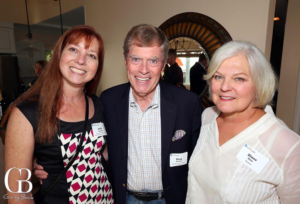 Sally Costello  Doug Dawson and  Diane Glow
