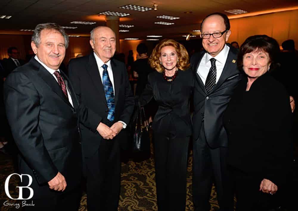 Sam Horowitz  Andrew Viterbi  Reena Horowitz  Max Nikias and Erna Viterbi