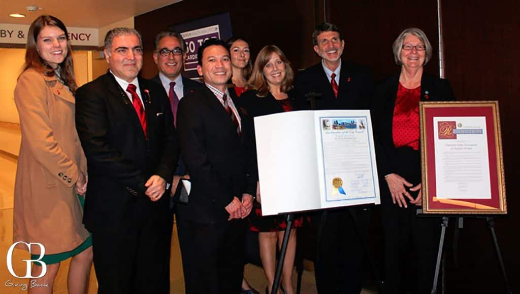 San Diego City Proclamation of Wear Red Day