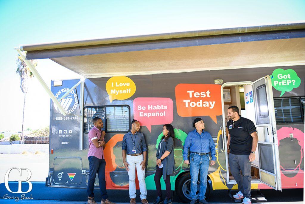 San Ysidro Health Mobile Testing Unit