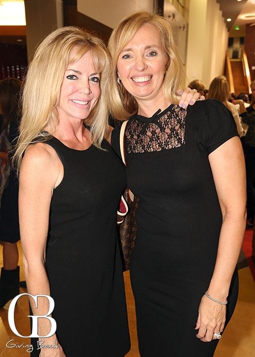 Sandi Milliken and Dawn Hall Cuneen