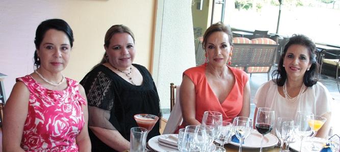 Sandra Gonzalez, Gloria Fimbres, Tity Arizmendiz y Zarela Rodriguez