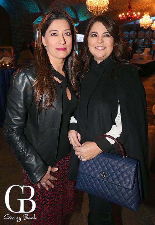 Sandra Aguilar and Elena Valderrama