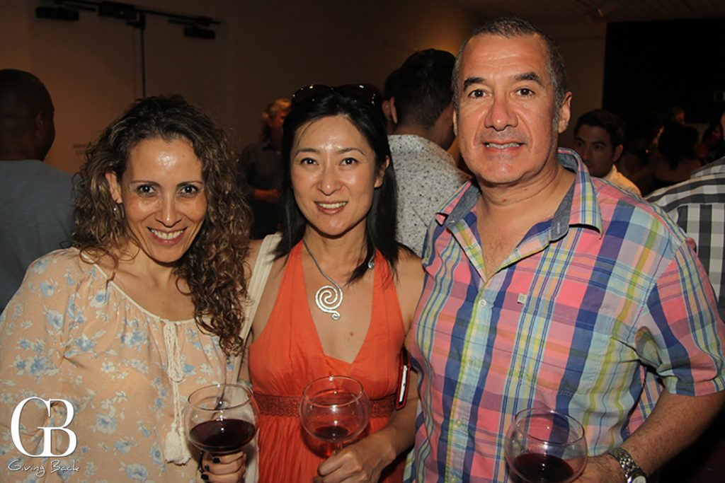 Sandra Badillo  Midori Kato and Roberto Gallegos