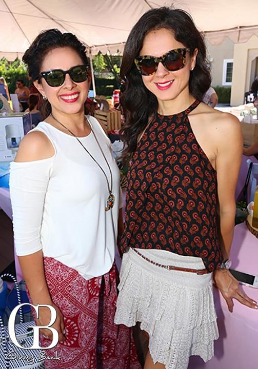 Sandra Silva y Priscilla Carrillo