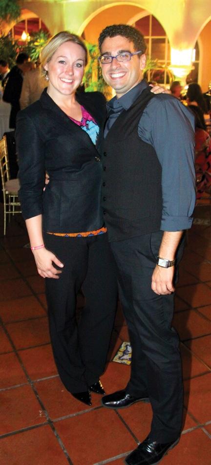Sara Abernethy and Antonello di Benedetto.JPG