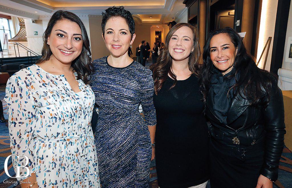 Sara Jacobs  Nadine Durbach  Alexandra Mars and Lisa Shaoul